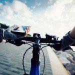GPS de mano ciclista