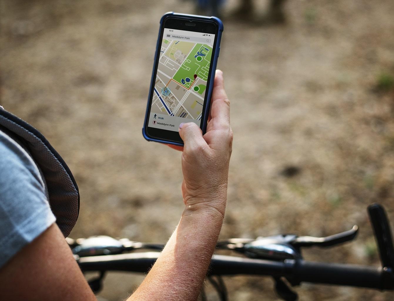 GPS de mano coche