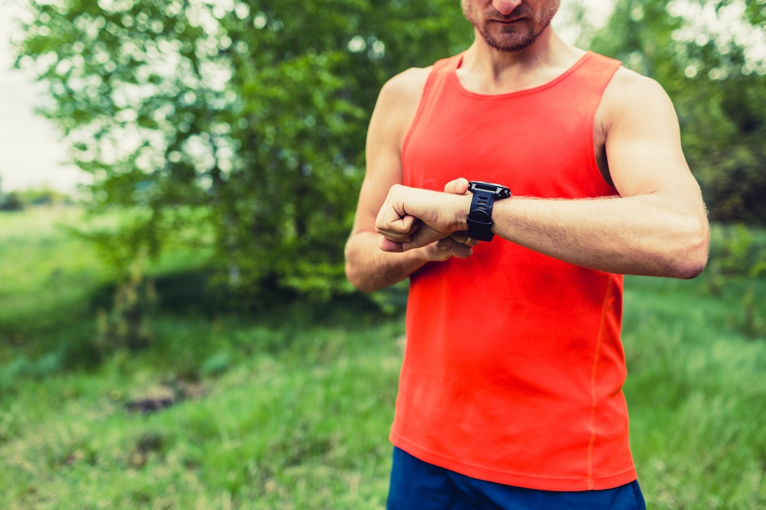 GPS de mano runner