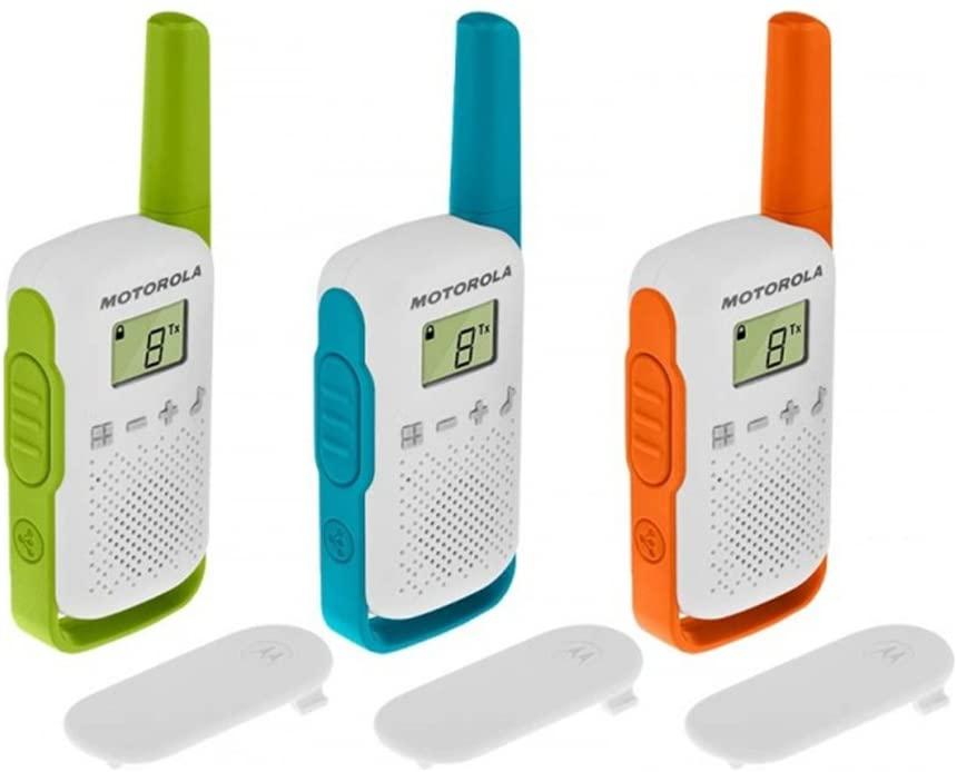 Motorola Talkabout T402 walkie talkies para uso de interiores