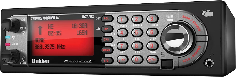 Uniden Bear Tracker Scanner (BCT15X) escaneres policiales