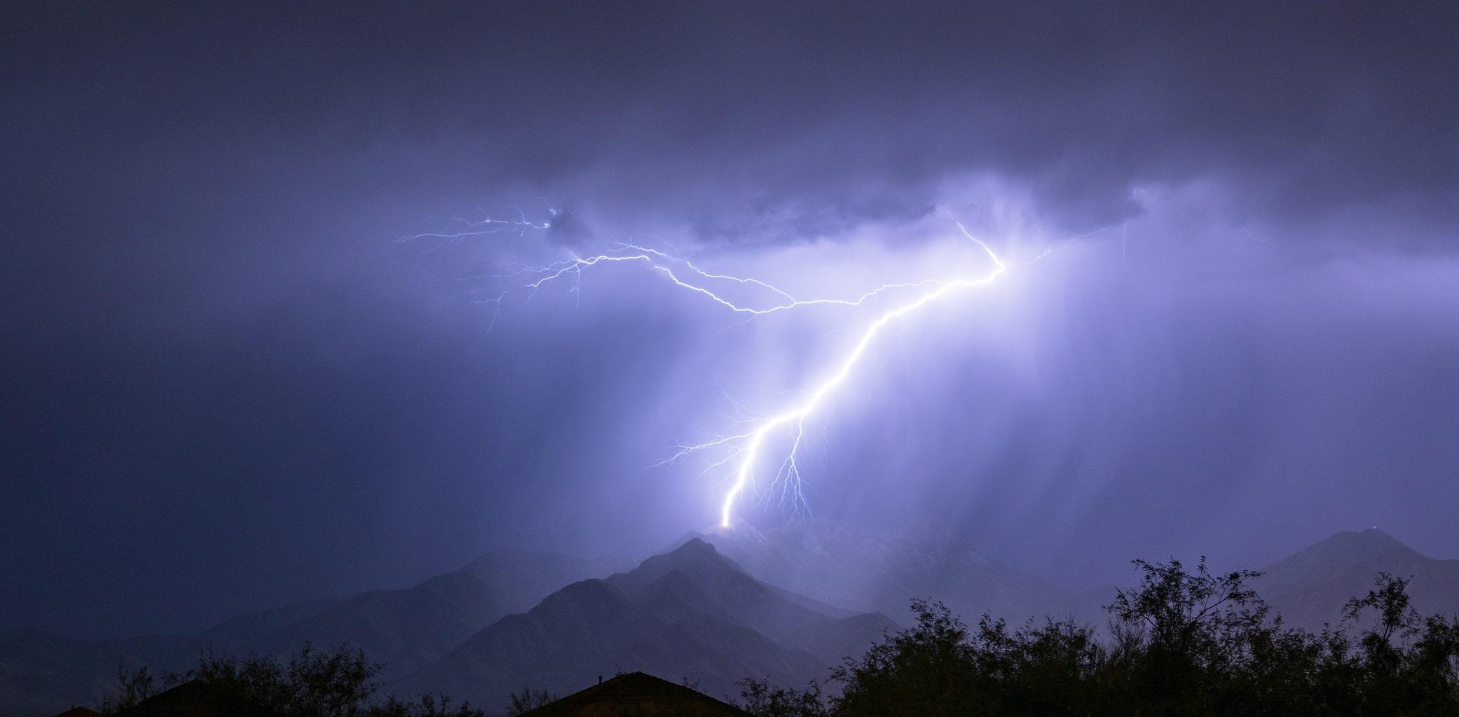 rayo meteorologica