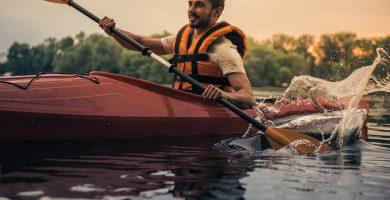 resistentes al agua kayak