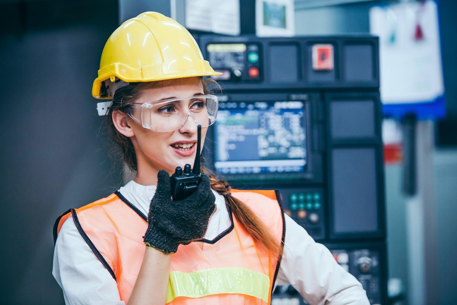 walkie talkies para uso en interiores industria