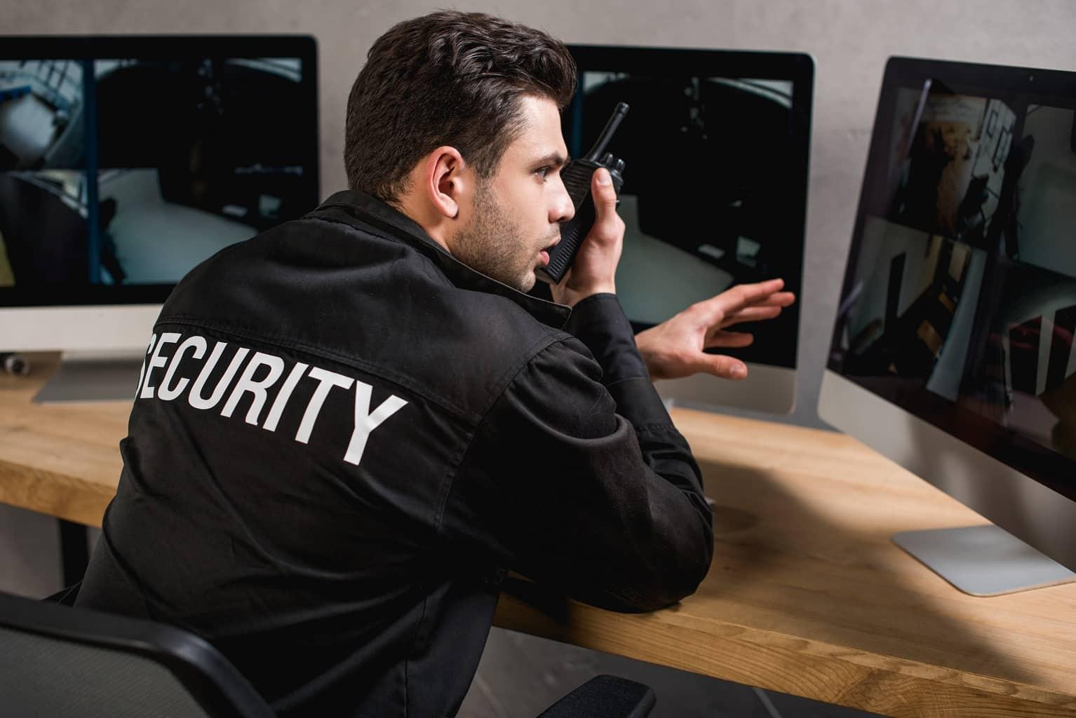 walkie talkies para uso en interiores seguridad